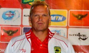 Asante Kotoko coach Kjetil Zachariassen lands in Ghana