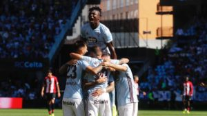 Joseph Aidoo misses out on Celta Vigo's 'Player of the Month' award