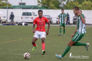 Ghanaian youngster Alhassane Souradjou shines for Condeixa FC