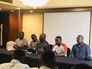 Ghana's Ambassador to Egypt visits Black Meteors team ahead of Cameroon encounter