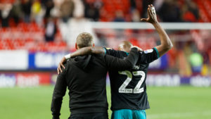 Swansea City boss Steve Cooper happy with Ayew's reaction after missed chances against Sheff Wednesday