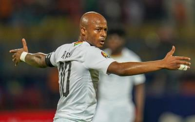 Swansea star Andre Ayew marks 85th appearance for Black Stars against South Africa