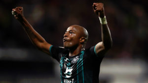 Swansea City boss heaps praise on Andre Ayew's leadership qualities