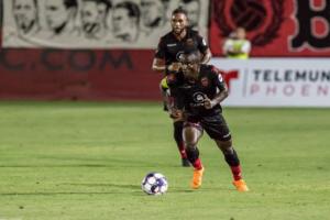 Ghanaian winger Solomon Asante nominated for 2019 USL MVP