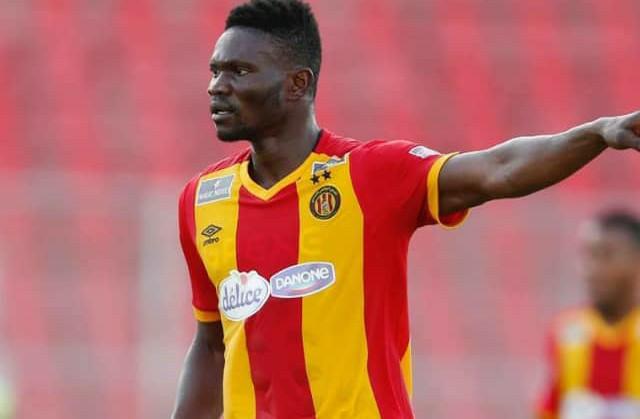 Ghana international Kwame Bonsu scores his first goal for Esperance in friendly win over CS Hammam-Lif