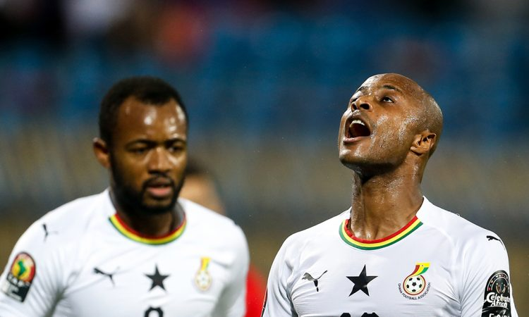 Andre Ayew heaps praise on Black Stars players over good conduct in camp