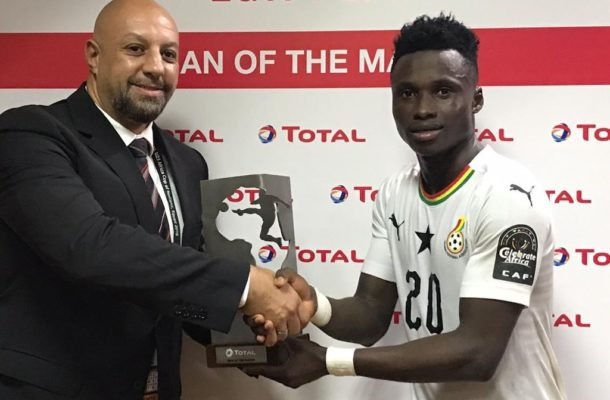 CAF U-23 Africa Cup of Nations: Evans Mensah named man of match in Cameroon draw