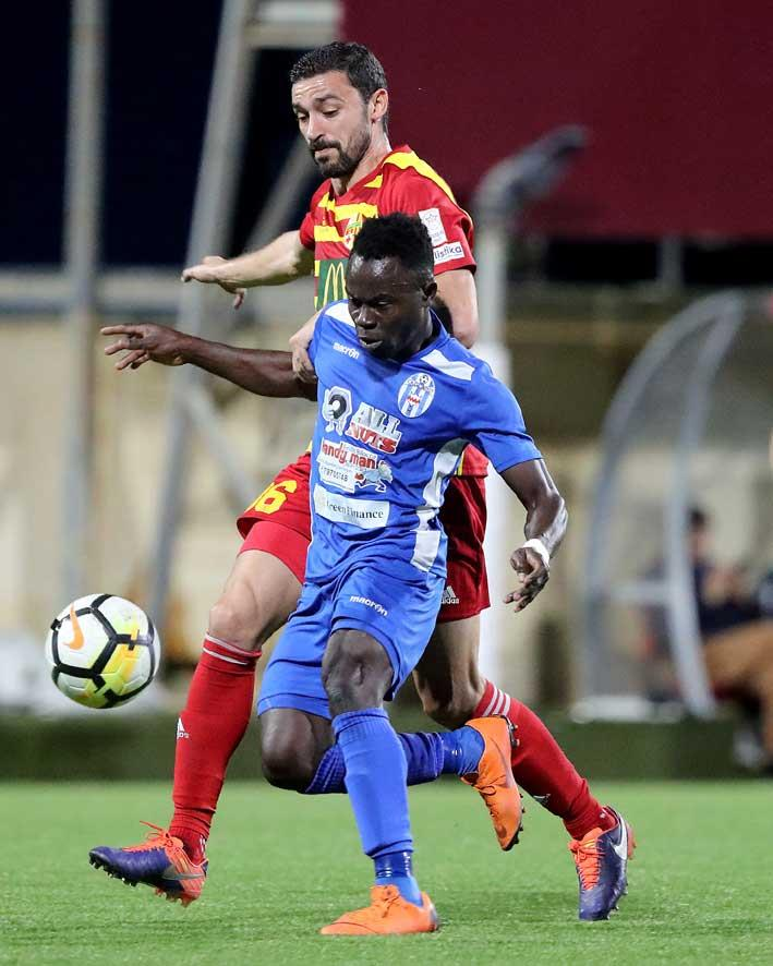 Gabriel Mensah grabs BOV player of the match with a brace