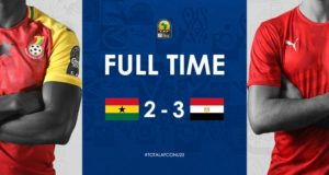 CAF U-23 AFCON: Ghana on the brink of elimination after losing 3-2 to Egypt
