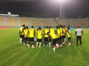 Photos: Ghana U-23 squad hold final training session ahead of Cameroon clash