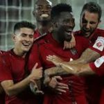 Ghanaian striker Asamoah Gyan misses out on Max performer of the match accolade