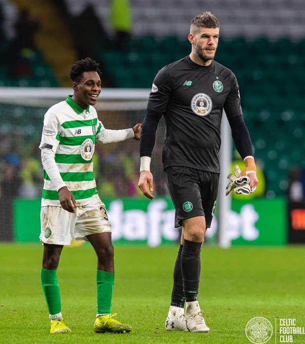 Ghanaian defender Jeremie Frimpong delighted with Celtic win over Motherwell