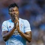 Ghanaian defender Joseph Aidoo gifts Barcelona a penalty as Celta Vigo suffer defeat