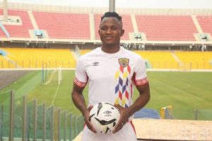 Hearts of Oak striker Joseph Esso attract interest from Israeli side Ironi Ashdod