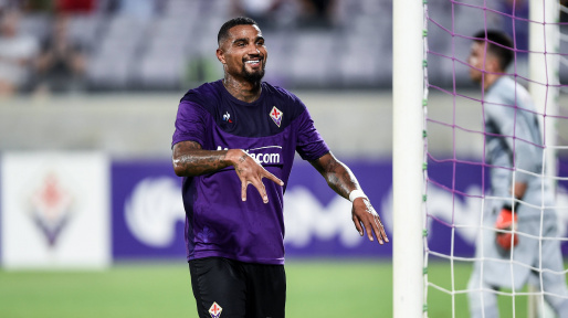 Kevin-Prince Boateng scores for Fiorentina in friendly