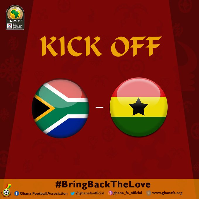 Watch Live: South Africa vs Ghana - U-23 AFCON third place match