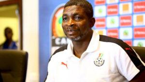 Maxwell Konadu wishes Black Meteors well ahead of opening game against Cameroon