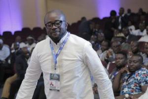 GFA boss Kurt Okraku congratulates new Kotoko NCC Chairman Christopher Damenya