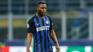 Ghana international Kwadwo Asamoah ruled out of Inter's UCL clash against Dortmund