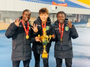 Black Queens skipper Elizabeth Addo clinches fourth title with Chinese side Jiangsu Suning FC