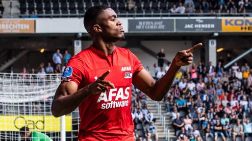 Ghanaian striker Myron Boadu scores as AZ Alkmaar thump FC Twente
