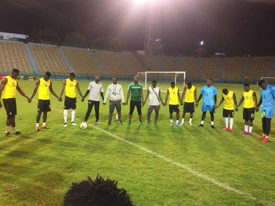 VIDEO: Black Meteors in usual Jama session ahead of Côte d'Ivoire clash
