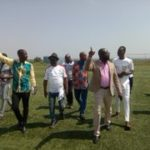 PICTURES: Kurt Okraku leads new GFA to inspect Ghanaman Soccer Centre of Excellence