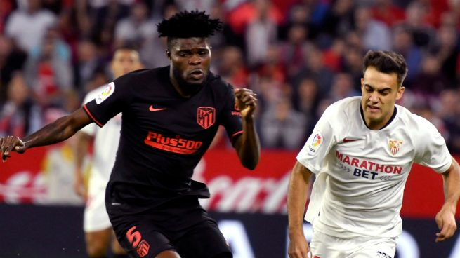 Ghanaian midfielder Partey features in Atletico Madrid's draw against Sevilla