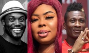 Afia Schwarzenegger descends on Gyan and Essien for teasing celebrities that Cardi B snubbed