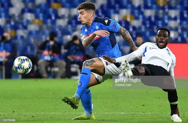 Top Italian paper Gazzetta dello Sport praises Genk attacker Joseph Paintsil for performance against Napoli