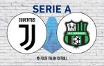 Juventus v Sassuolo: Official Line-Ups