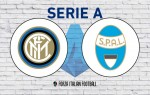 Inter v SPAL: Official Line-Ups