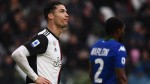 Ronaldo ends goal drought as Juventus slip up vs. Sassuolo