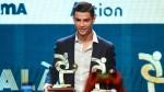 Cristiano Ronaldo skips Ballon d'Or gala to pick up award in Italy