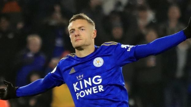 Leicester 2-0 Watford: Jamie Vardy and James Maddison on target