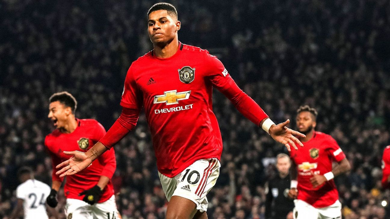 Rashford 9/10 as United hand Mourinho his first Spurs defeat
