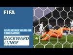 Backward lunge [Goalkeeper Warm-Up Programme]