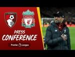 Jürgen Klopp's pre-match press conference | Bournemouth