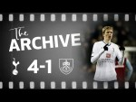 THE ARCHIVE | Spurs 4-1 Burnley | Carling Cup semi-final first leg, January 2009