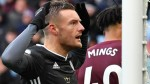Aston Villa 1-4 Leicester: Jamie Vardy scores two as Leicester claim club record eighth win in row