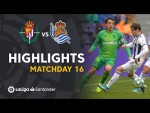 Highlights Real Valladolid vs Real Sociedad (0-0)