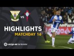 Highlights CD Leganés vs RC Celta (3-2)