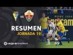 Resumen de Cádiz CF vs Elche CF (0-0)