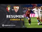 Resumen de CA Osasuna vs Sevilla FC (1-1)