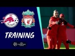 Liverpool's Champions League training | FC Salzburg