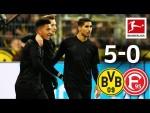 The Reus & Sancho Show - Borussia Dortmund vs. Fortuna Düsseldorf I 5-0 I All Goals