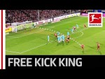 The Bundesliga's New Free-Kick Hero - All 8 Goals From Jonathan Schmid