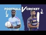 FOOTBALL v CRICKET CHALLENGE | Man City v Knight Riders