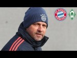 LIVE 🔴 Pressetalk mit Hansi Flick vor FC Bayern - Werder Bremen