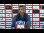 Rueda de prensa de  José Luis Martí tras el CD Numancia vs Girona FC (2-0)